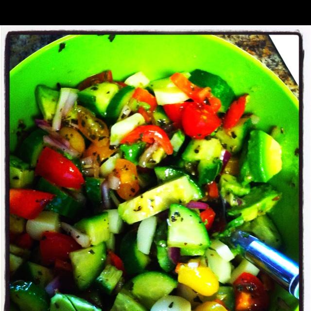 basil fresh mozzarella onions recipe cantaloupe salad with basil fresh ...