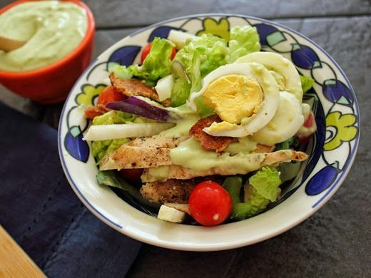 Simple Chicken salad | Healthy recipes | Pinterest