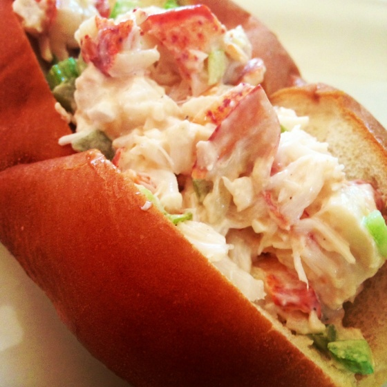 new england style lobster roll. | peonies and pomegranates. | Pintere ...