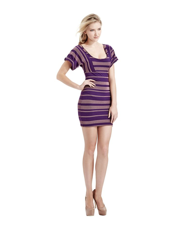 Free People - Purple Lunch Date Mini Dress: pinterest.com/pin/393009504954844228