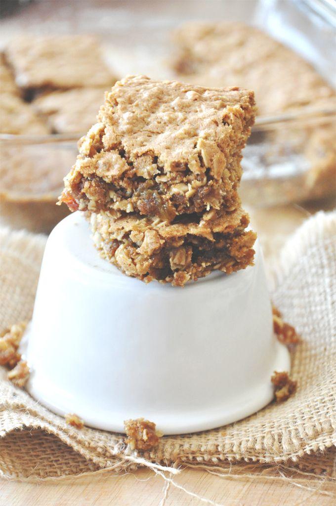 Chai Spiced Oatmeal Raisin Cookie Bars | Minimalist Baker Recipes...I ...