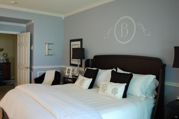 Painting Bedroom White Benjamin Moore Silver Mist Paint