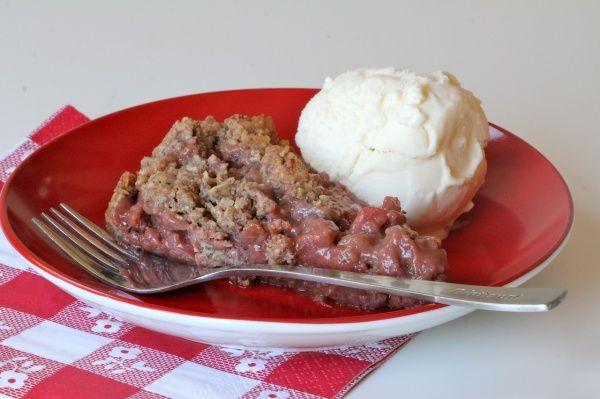 Gluten Free Strawberry Rhubarb Cobbler | Recipes: Dessert | Pinterest