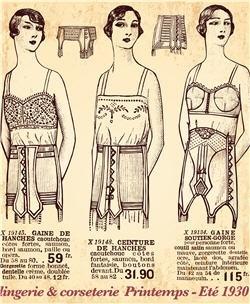 femmes en sous v tements 1930 tour du monde en 80 styles pinter. Black Bedroom Furniture Sets. Home Design Ideas