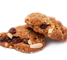almond amp raisin anzacs a new zealand and australian favourite with a ...