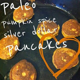 Domestic 360: Paleo Pumpkin Spice Silver Dollar Pancakes with Cinnamon ...