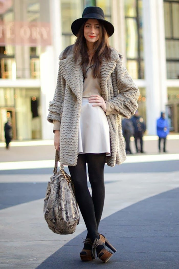 New York Winter Street Style Future Closet Pinterest