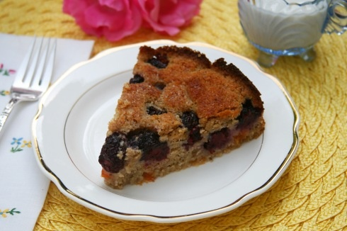 Hodgson Mill Blackberry Buttermilk Cake recipe. Hurry to store for ...