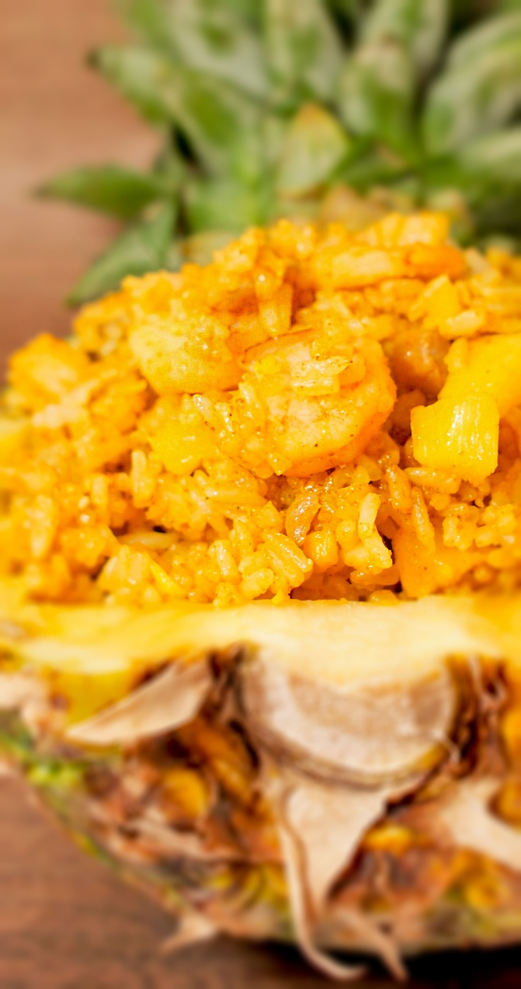 Classic Pineapple Curry Fried Rice | Food I want to try | Pinterest