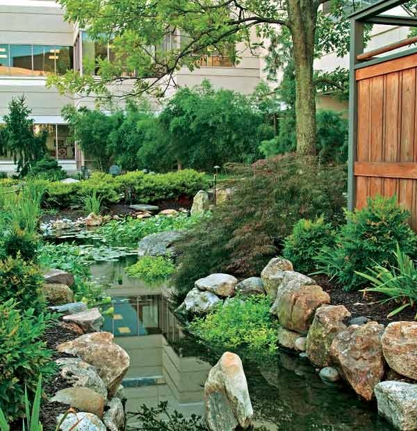 Water Features For Backyards Pictures : Backyard water feature  Home  Pinterest