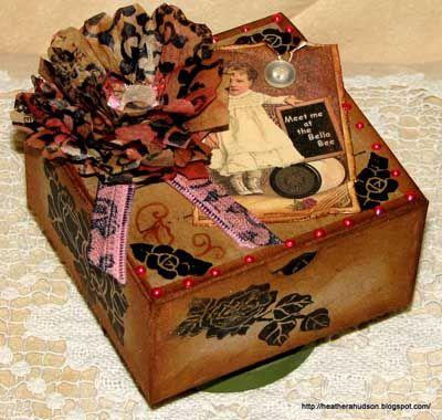Decoraci n con cajas de cart n decoraci n diy o hazlo - Decoracion de cajas ...
