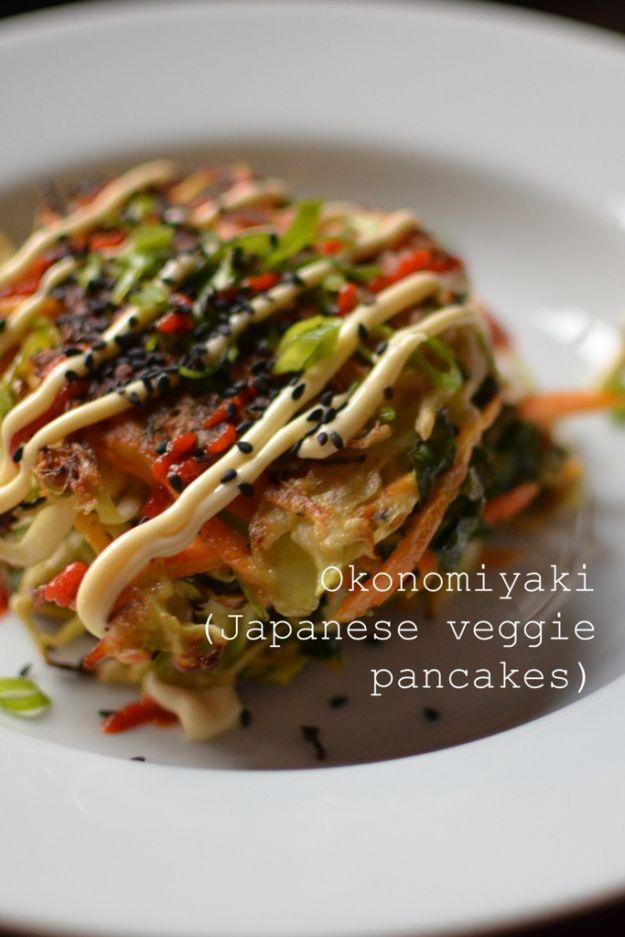 Okonomiyaki (Japanese veggie pancake) | Fabulous Food Finds - EAT.Dri ...