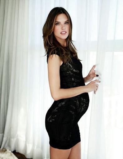 Alessandra Ambrosio Pregnant Pics 79