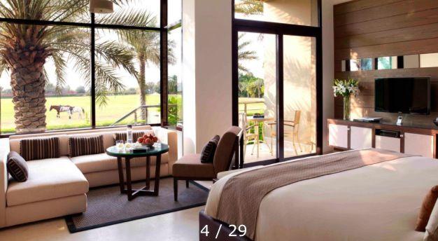 desert palm hotel suite: