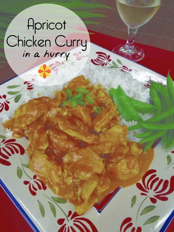 Apricot Chicken Curry (in a hurry!)