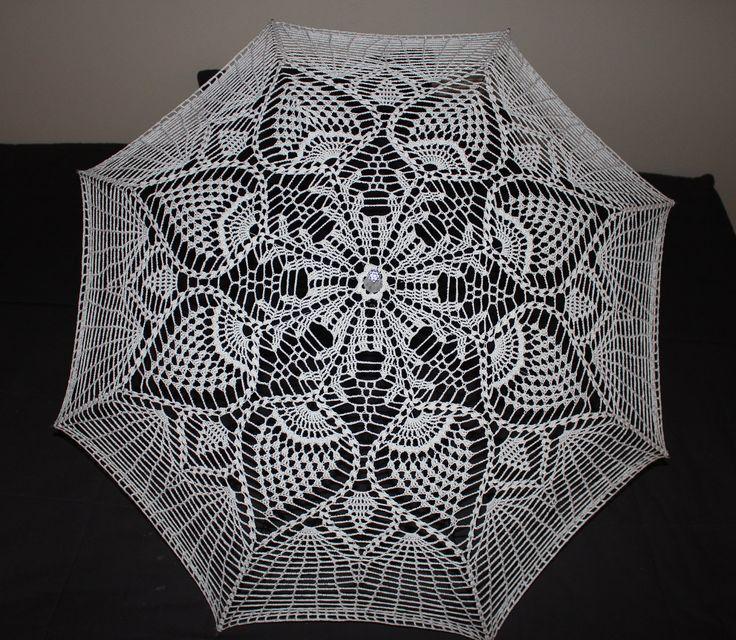 Crochet Umbrella : crochet parasols - Google Search Crochet things Pinterest