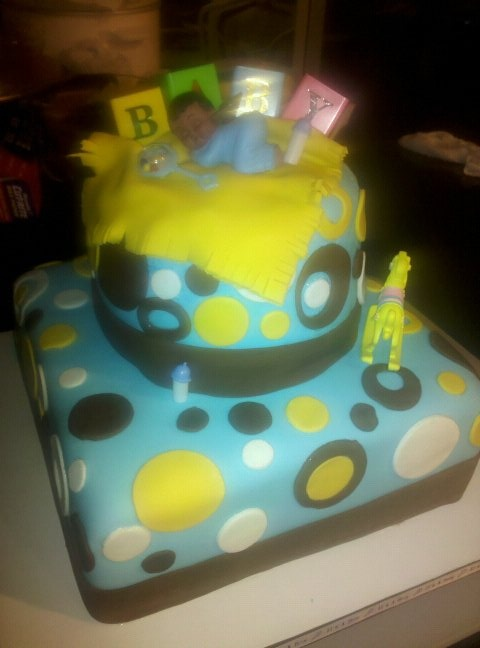 baby shower cake boy special occasion cakes pinterest