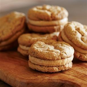 Peanut Butter Oatmeal Sandwich Cookies | Cookies/Brownies/Bars | Pint ...
