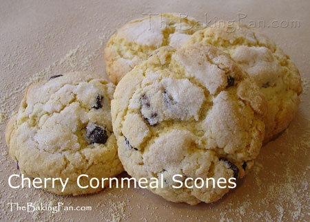 Cherry Cornmeal Scones | FOOD!!!!! | Pinterest
