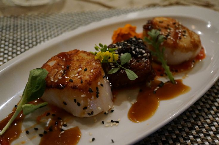riverbend bar and grille seared scallops with corn succotash will be ...