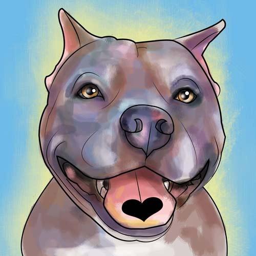 Pitbulls pitties dogs pets dogart petart www brittanyfarina com