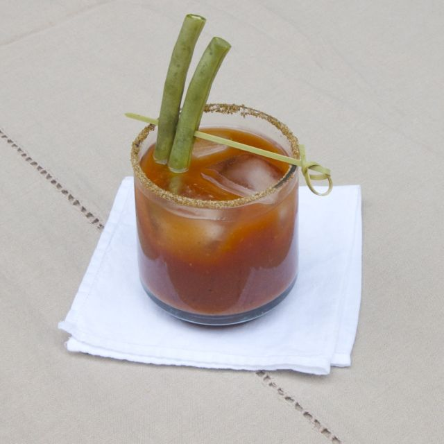 pickled green bean bloody mary | What to do with all the canned stuff ...