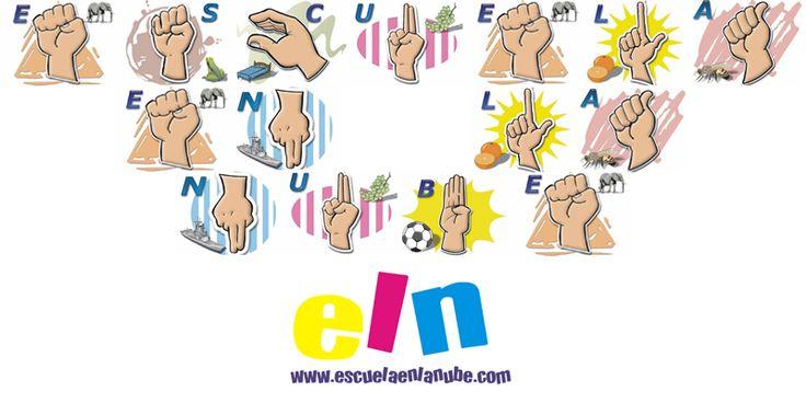 El lenguaje de las manos. el alfabeto dactilológico