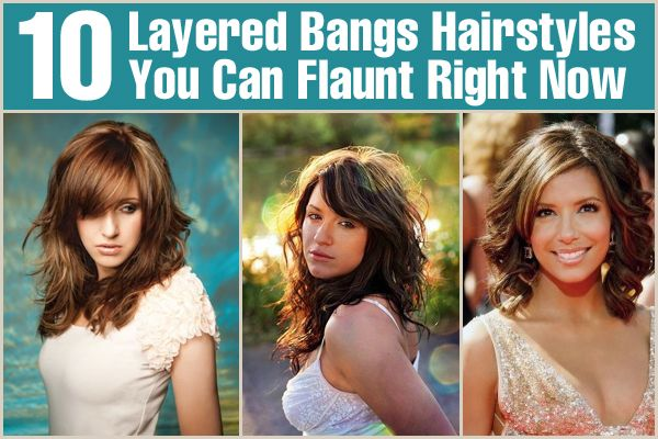 Hairstyles Right Now : 10 Layered Bangs Hairstyles You Can Flaunt Right Now StyleCraze