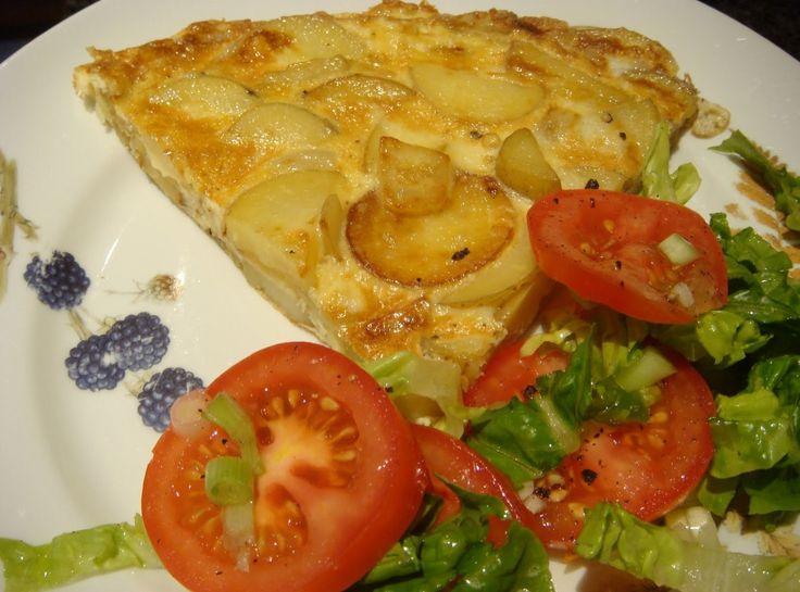 Spanish Omelet   breakfast   Pinterest