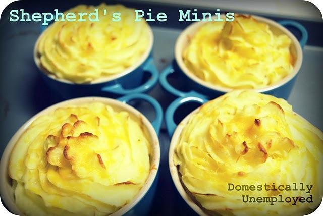 Shepherd's Pie Minis   CUISINE: DELICIOUS FOOD   Pinterest