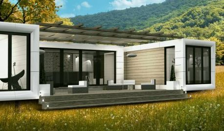 Pin by rosy on mobile home pinterest for Luxury garden office