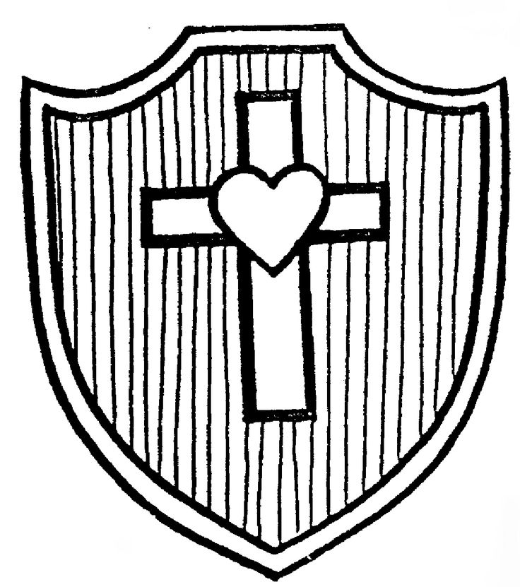 Shields Of Faith Shield Of Faith Coloring Page Shield Of Faith Coloring Page