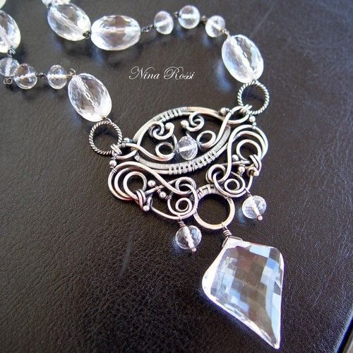 NINA ROSSI JEWELRY - Crystal fantasy