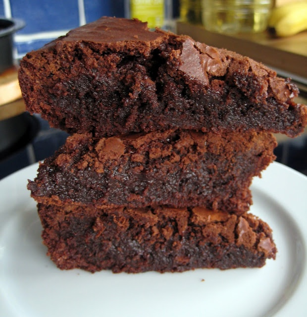 Easy brownies   Desserts   Pinterest