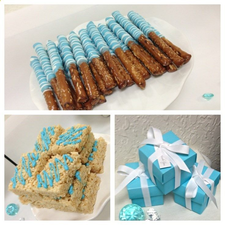 ... to add to any dessert table for any party. #desserts #blue #cookies