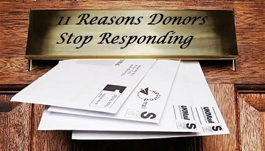 11 reasons donors stop responding to appeal letters what should you