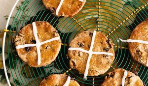 Hot-cross Biscuits - The Happy Foodie