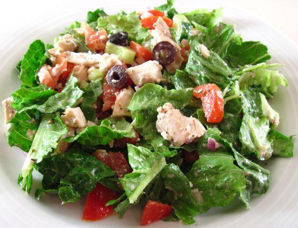 Gourmet Dad's Greek salad | First Course : Salads | Pinterest