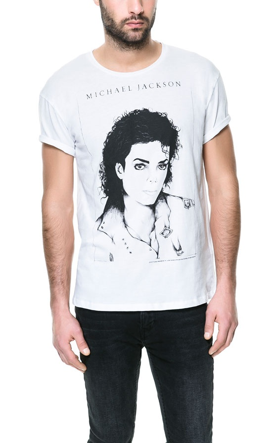 Jackson (OH) United States  city images : MICHAEL JACKSON T SHIRT T shirts Man ZARA United States