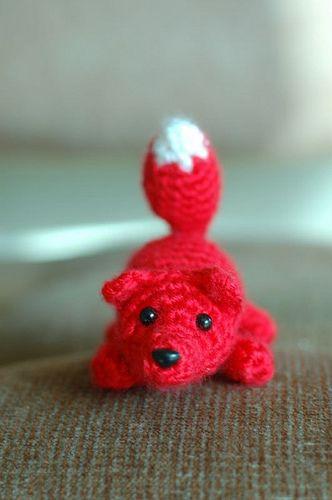 Crochet Fox : Little Fox pattern freebie Mailles : Doudoux et Amigurumis Pinter ...