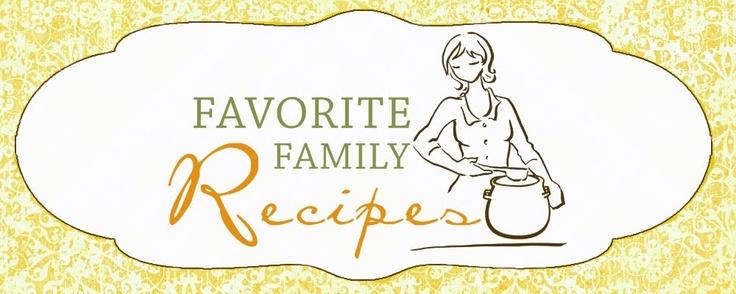 Favorite Family Recipes | Recipe Sites & Food Blogs | Pinterest