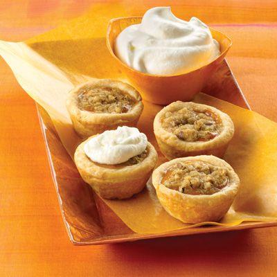 Mini Pumpkin Tarts ... a new way to serve traditional pumpkin pies at ...