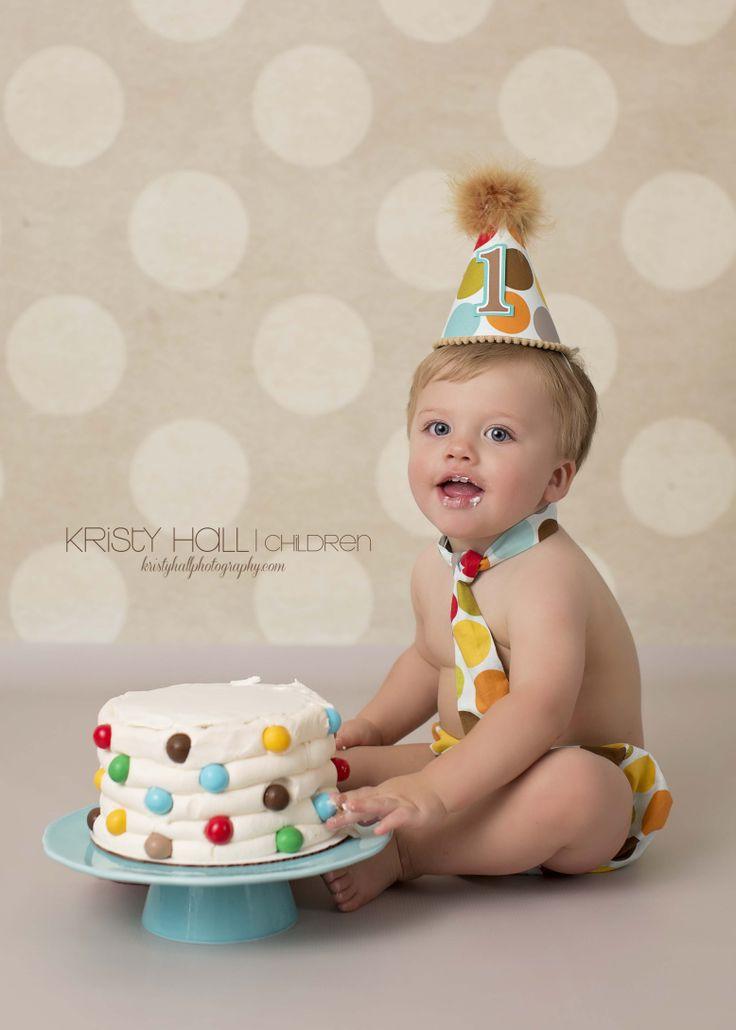 Cake For 1 Year Old Boy Pinterest : One Year-Old Cake Smash Photography Child Photography ...