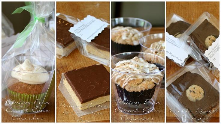 Packaging for bake sale items bake sale items pinterest