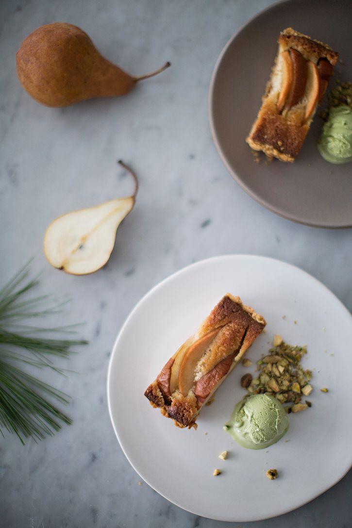 pear frangipane tart Sunday Suppers | Cakes and baking | Pinterest