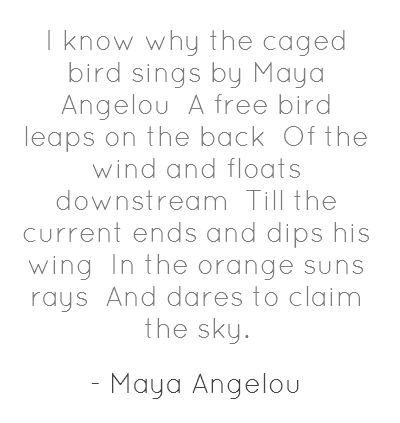 i know why the caged bird sings Use our free chapter-by-chapter summary and analysis of i know why the caged bird sings it helps middle and high school students understand maya angelou's literary masterpiece.