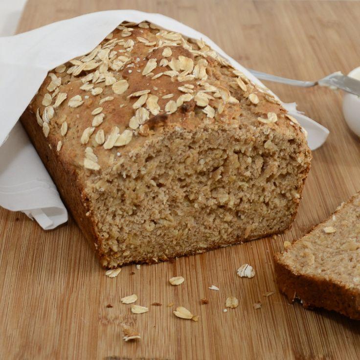 Honey Oat Quick Bread | Recipe
