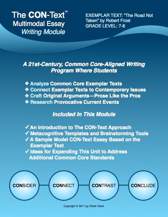 Multimodal essay ideas for middle school
