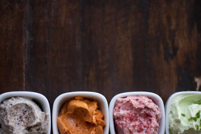 Quartet of Compound Butters Recipe: Dry Desert Lime, Dehydrated ...