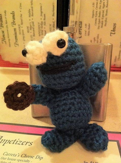 Amigurumi Cookie Monster Pattern : Amigurumi Cookie Monster crochet pattern pdf